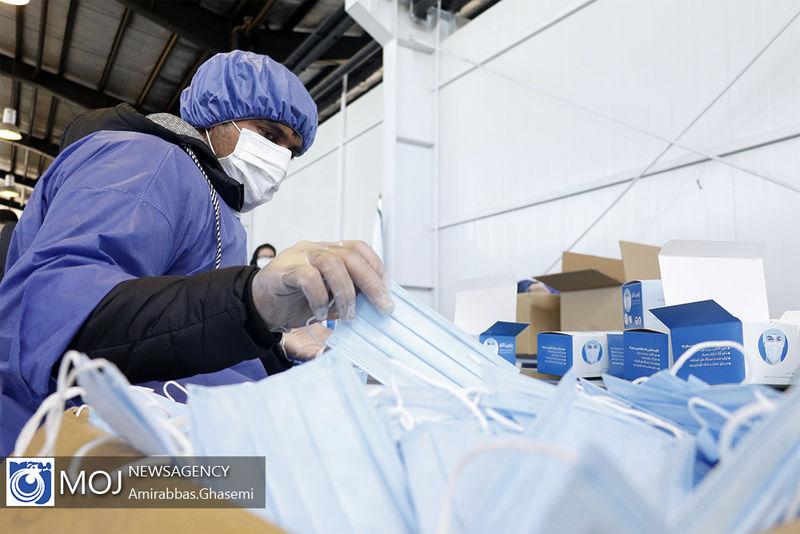 نیاز وزارت بهداشت روزانه ۴ میلیون ماسک است
