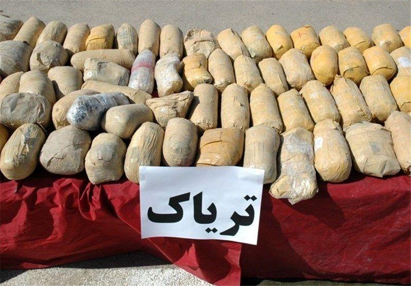 قاچاقچی 264 کیلو تریاک در کرمانشاه دستگیر شد
