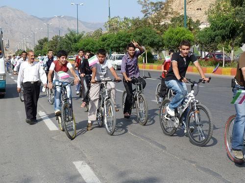 برگزاری همایش بزرگ دوچرخه سواری در مشهد