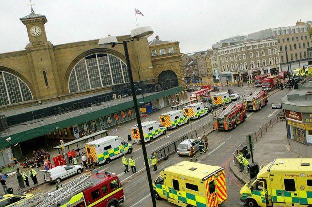 تصادف خودرو عابرین پیاده در لندن 11 زخمی برجای گذاشت