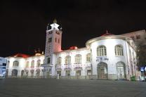 آذین بندی ساختمان تاریخی شهرداری رشت