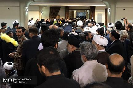 مراسم ختم همسر سید احمد علم الهدی