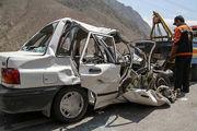 آخرین آمار فوتیها براثر تصادف در 3 روز گذشته