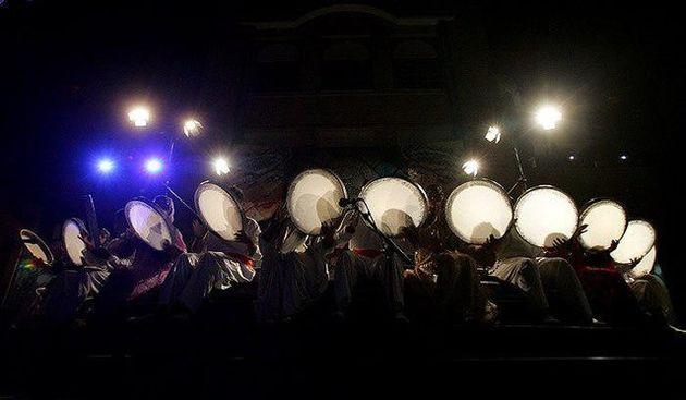 اجرای گروه موسیقی سنتی ایران در مسکو