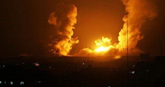 حمله موشکی رژیم صهیونیستی به شمال نوار غزه