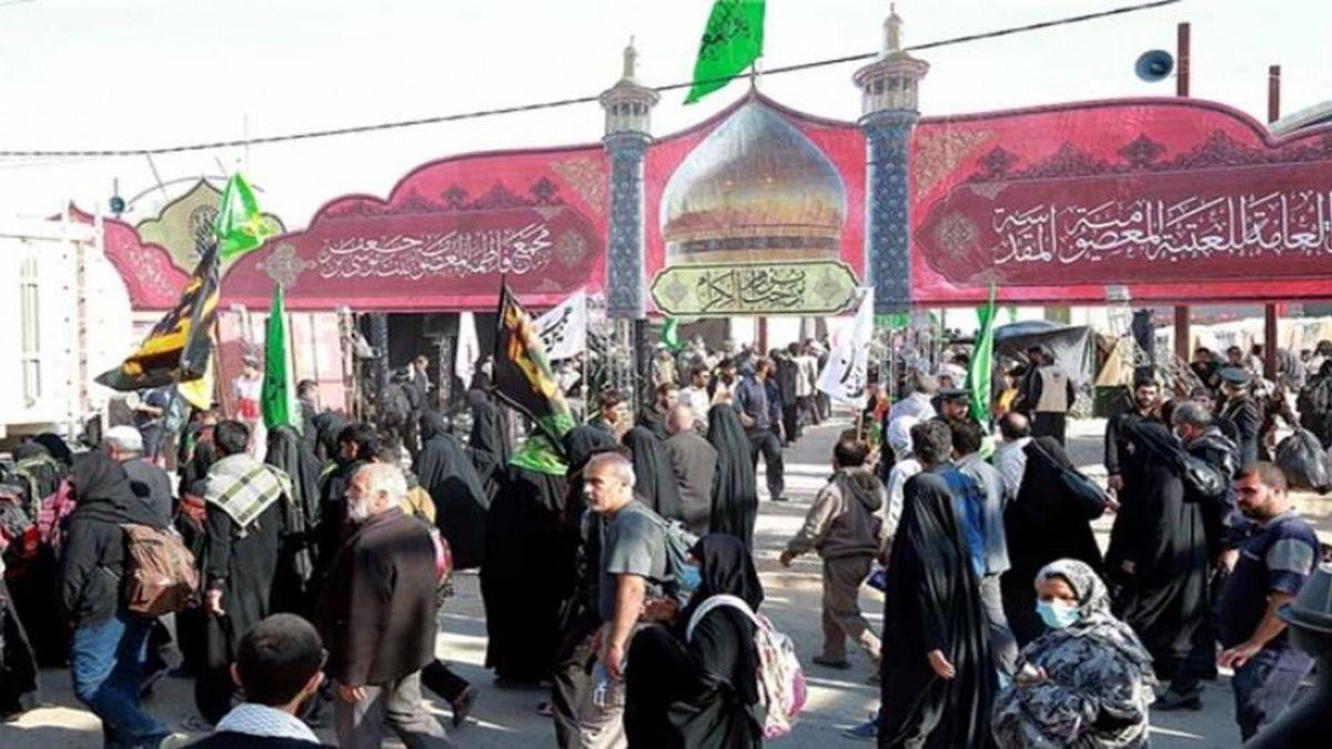 برپایی 23 موکب حرم حضرت زینب (س) اصفهان در راهپیمایی اربعین حسینی