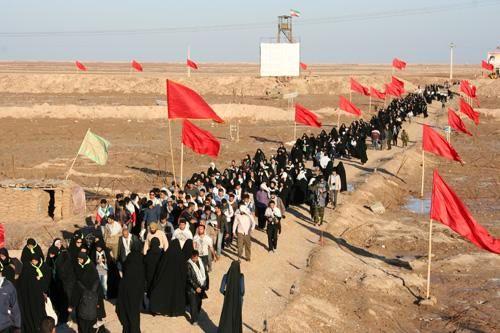 بازدید بیش از 10 هزار نفر از یادمانها و مناطق عملیاتی استان کرمانشاه