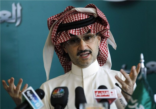 آزادی ولید بن طلال از هتل ریتز ریاض