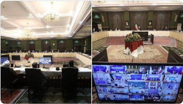 جلسه ستاد ملی مدیریت کرونا به ریاست روحانی برگزار شد