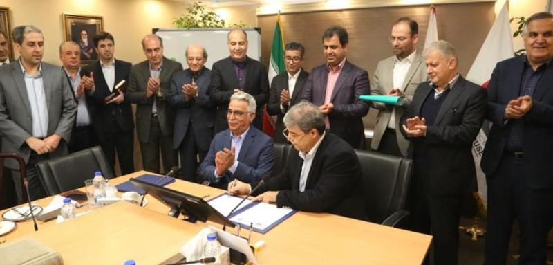 امضای تفاهمنامه توسعه حمل و نقل در بخش معدن