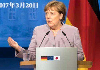 دفاع مرکل از وزیر خارجه آلمان در قبال رژیم صهیونیستی
