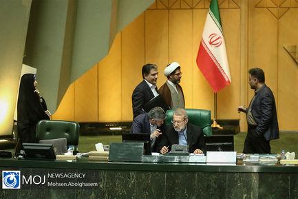 صحن علنی مجلس شورای اسلامی در نوبت عصر - ۷ مرداد ۱۳۹۸