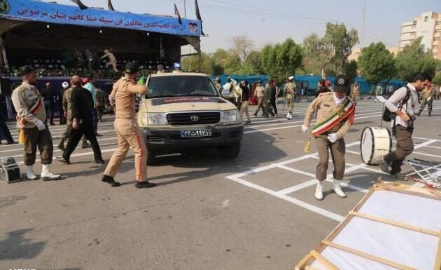 عکس های حمله تروریستی اهواز در آغاز هفته دفاع مقدس