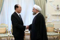 روحانی: امیدواریم شاهد صلح و امنیت در آسیا و مخصوصا شرق آن باشیم