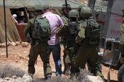 رژیم صهیونیستی 12 فلسطینی را در کرانه باختری بازداشت کرد