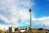 کیفیت هوای تهران در 20 دی 97 پاک است