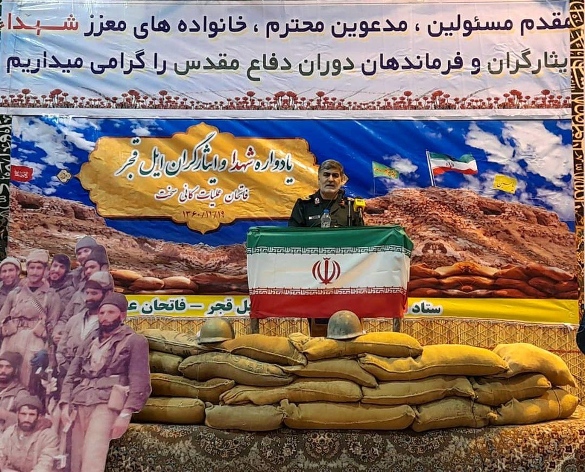 انقلاب اسلامی همینه پوشالی آمریکا را به چالش کشیده است