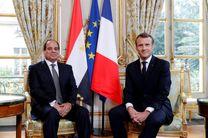 سفر رئیس جمهور فرانسه به مصر