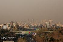 کیفیت هوای تهران در 22 تیر ناسالم است