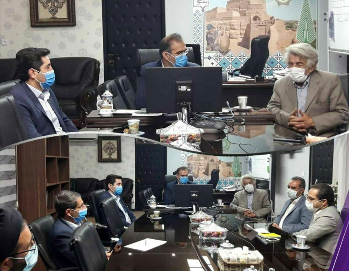 خانه امین الرعایا برای شهرداری ناحیه تاریخی میبد آماده سازی می شود