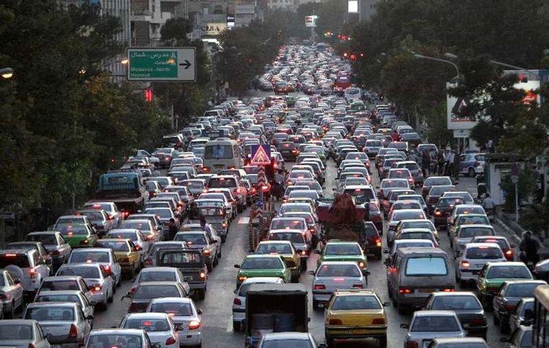 آخرین وضعیت ترافیکی و جوی جادههای کشور در 1 آبان