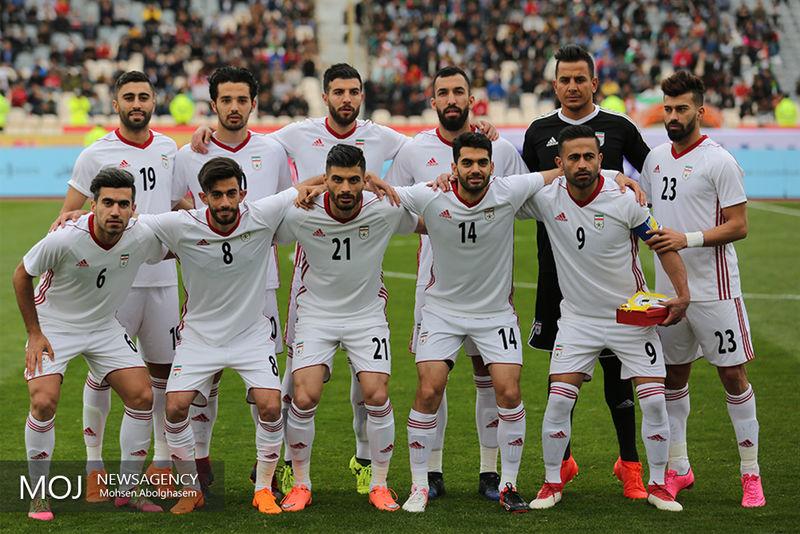 ترکیب رسمی تیم ملی فوتبال ایران مقابل فلسطین