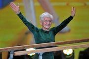 پیرزن ۹۱ ساله پیرترین ژیمناست فعال جهان