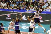 نتیجه بازی والیبال ایران و آمریکا/ ایران از صعود به دور نهایی بازماند