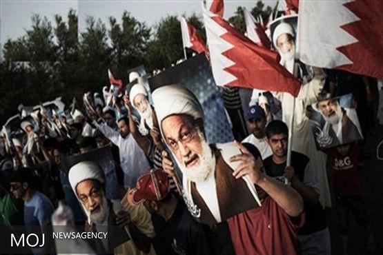 تظاهرات مردم بحرین در اعتراض به محاکمه آیت الله عیسی قاسم