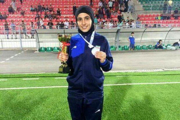 ورزشکار مازندرانی بهترین گُلر دختران آسیا شد