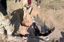 کشف گور دسته جمعی متعلق به نیروهای داعش