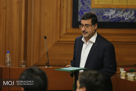 جلسه بررسی استعفای مجدد شهردار تهران