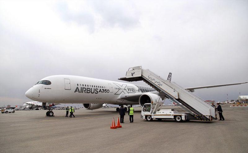 سومین هواپیمای ایرباس می آید