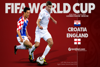 ترکیب اصلی دو تیم انگلیس و کرواسی اعلام شد