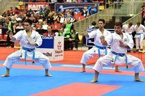 کاتای تیمی مردان به مدال نقره رسید