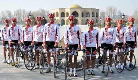 تیم دوچرخه سواری شهرداری تبریز در رده دوم آسیا قرار گرفت