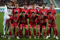 6 غایب باشگاه پرسپولیس مقابل نساجی