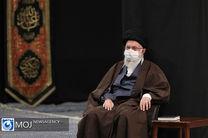 مراسم عزاداری شهادت امام رضا (ع) با حضور رهبر انقلاب برگزار شد