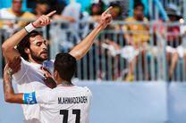 صعود ساحلیبازان ایران به یکچهارم نهایی جام جهانی