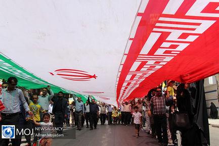 راهپیمایی+روز+جهانی+قدس+در+اهواز