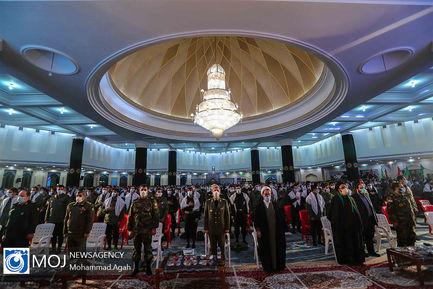 سالگرد شهادت سردار حاج قاسم سلیمانی در دانشگاه امام حسین(ع)