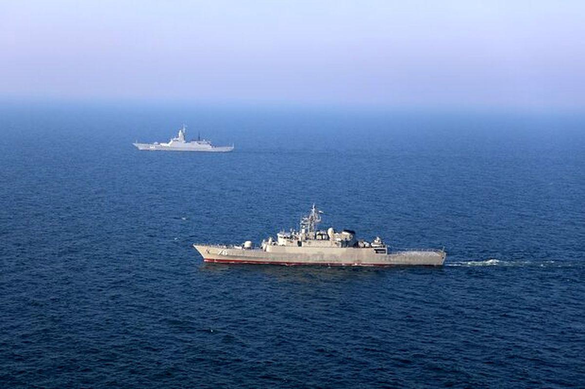 شناورهای ایران و روسیه به سوی اهداف از پیش تعیین شده در دریا تیراندازی کردند