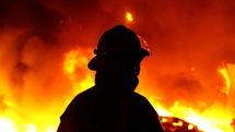افزایش خطر آتش سوزی با انباشت چوب ها در سطح منطقه ۵