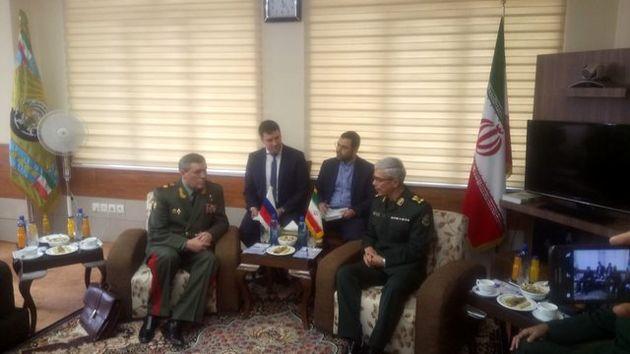 محورهای اصلی مذاکره سرلشکر باقری و رئیس ستاد کل ارتش روسیه