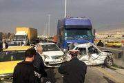 تصادف زنجیره ای کیلومتر ١٨ جاده مرند-تبریز 40 مصدوم داشت