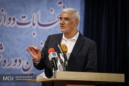در پایان گزارش احمدی رییس ستاد انتخابات کشور