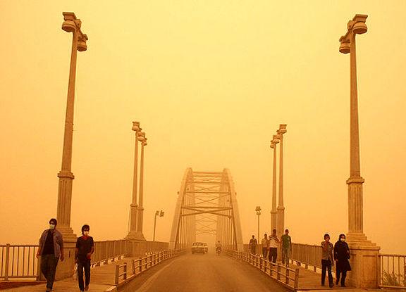 وزش بادهای شدید ایجاد گرد و غبار برای استان های جنوب غرب کشور را به همراه خواهد داشت