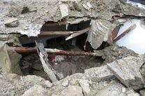 سازه غیرایمن در بندرعباس یک مصدوم بر جای گذاشت