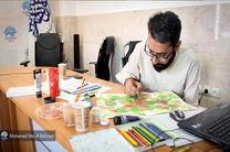 کارگاه تصویرسازی هنر انقلاب اسلامی در قم برگزار شد