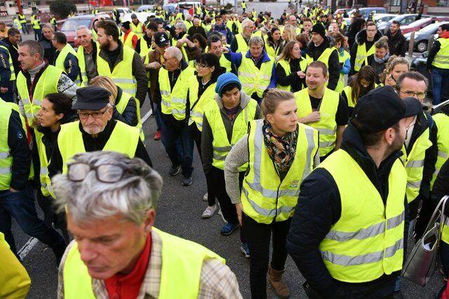 اعتصابات سراسری در فرانسه